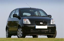 Black Kia Picanto