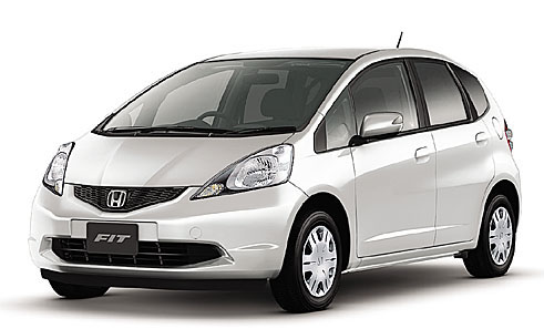 Honda Fit White